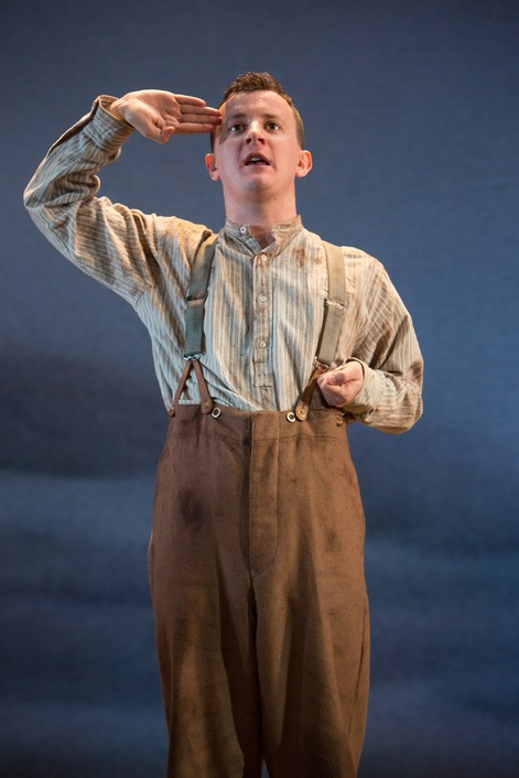 Andy Daniel in title role of Private Peaceful - photo 3 by Jonathan Keenan - Press