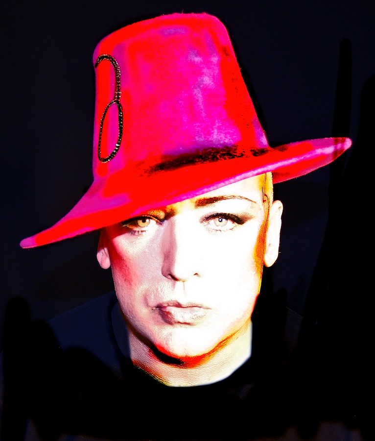 Boy George hat color 1