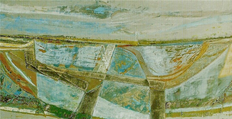 Peter Joyce painting (salt pan)